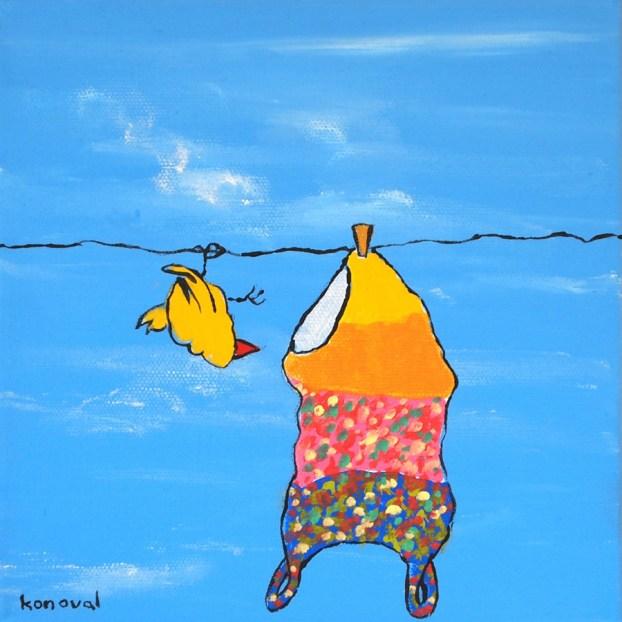 My Friend Sally Has 56 Swim Suits #9, Karin Konoval