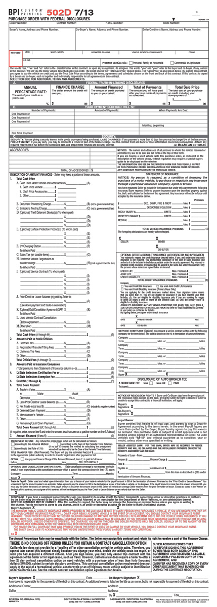 Vehicle Purchase Agreement Docx-Purchase-Agreement-Template - purchase order contract template