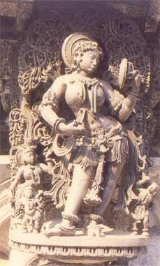 "Darpana Sundari or ""The lady with the mirror"""