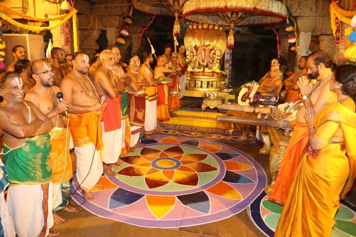 Vaikunta Ekadashi, Adhyanotsavam in Tirupati