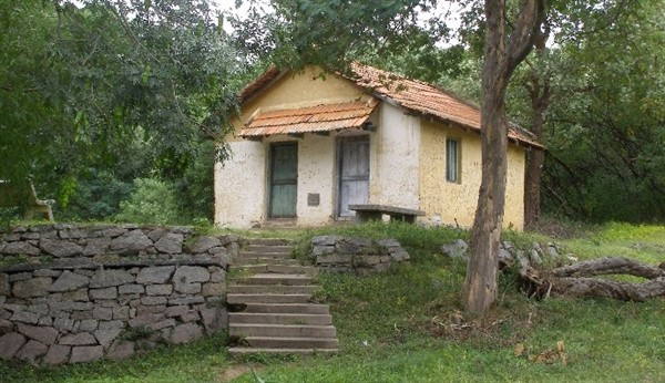Namada Chilume old guesthouse where Dr. Salim Ali had camped. Photographer Gpitta