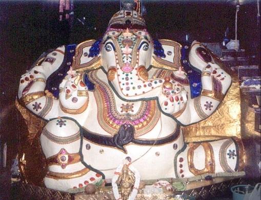 Dodda Ganesha temple in Basavangudi, Bangalore