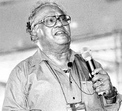 Bharat Ratna awardee Prof CNR Rao