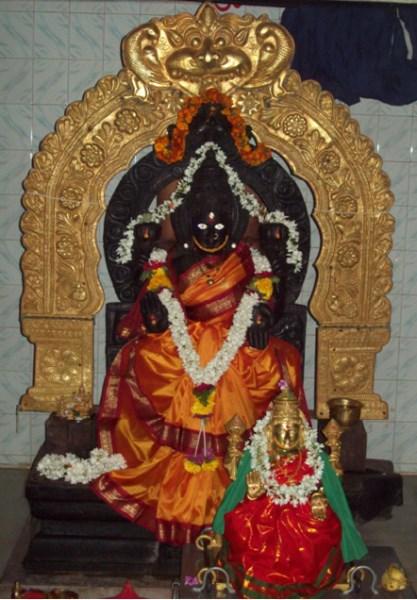 mahalakshmi temple, gubbi