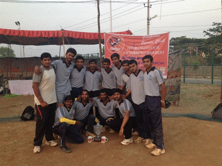 Standing: Madhusudan: second from left, Punith: extreme right  Sitting: Shivaraj: first from left, Channaraju: second from left