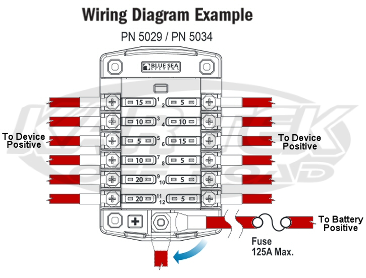 Blue Sea Fuse Block Wiring Diagram Download Wiring Diagram