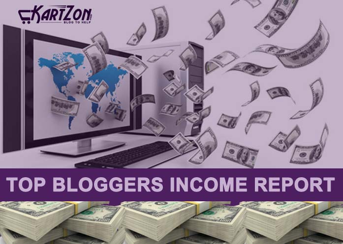check bloggers Income How much bloggers make the money