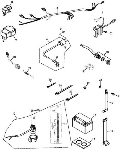ford ka clock wiring