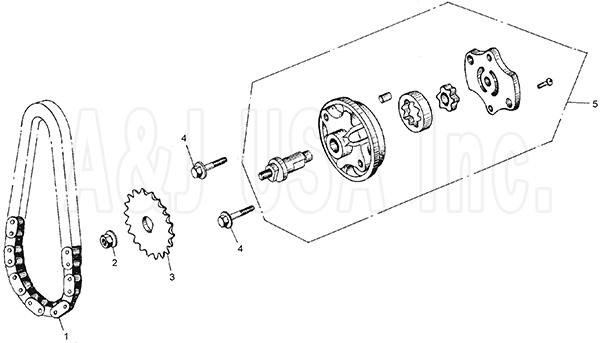 moped battery diagram