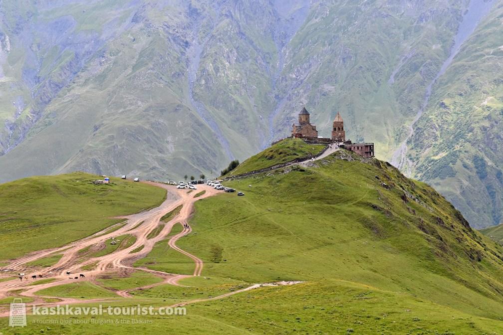 Iconic hiking destination: Kazbek