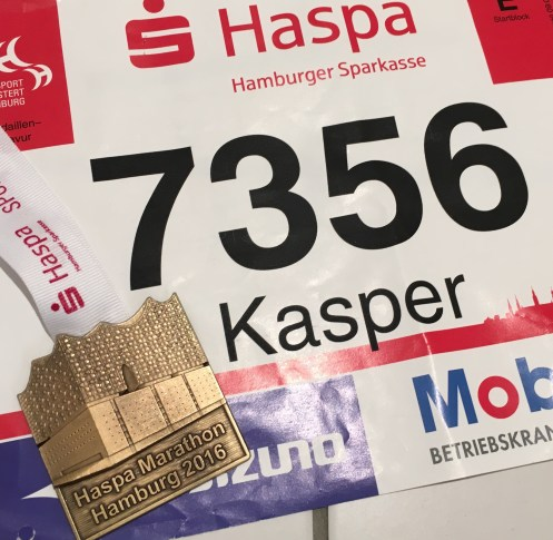 Hamburg Marathon 2016 Medal