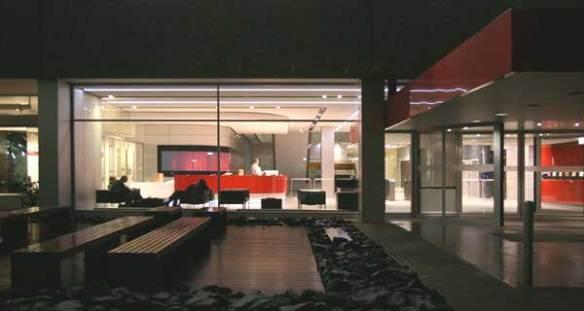 Eingangsbereich Gebäude 1