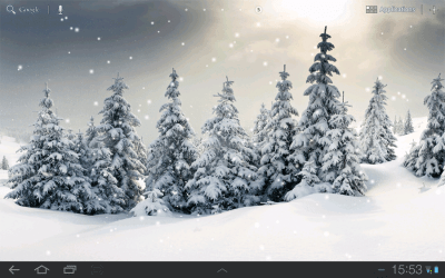 KastorSoft - Live Snow Wallpaper