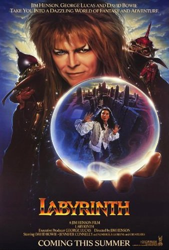 Labyrinth wasd my first favorite film and launched a lifelong love of David Bowie.