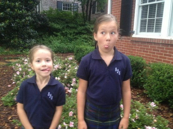 funny faces on first day of school