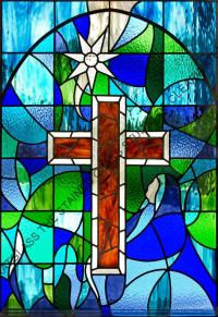Church of Christ Science Stained Glass Windows Tarpon Springs