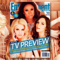Kat McPhee covers EW with Megan Hilty & Jennifer Hudson