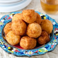 Arancini (Rice Balls) and a Rice Blog Hop