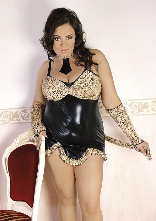 C/4010 Leopard-Outfit schwarz/braun von Andalea