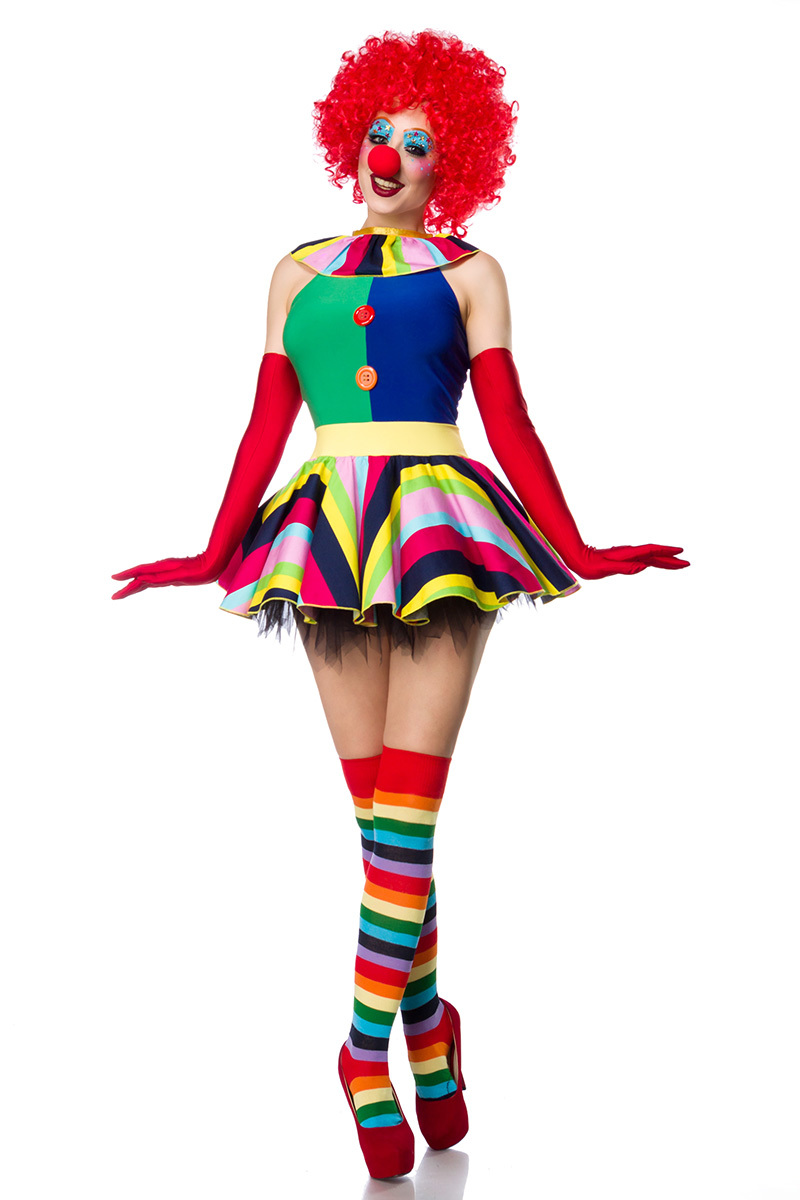 Clown Girl Komplettset 80054