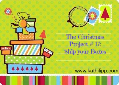 The Christmas Project # 17: Shipping
