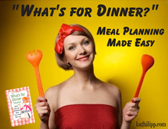 """What's For Dinner?"" – Meal Planning Made Easy"