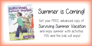 Get a Preview Copy of My New E-book Surviving Summer Vacation Before it Releases!