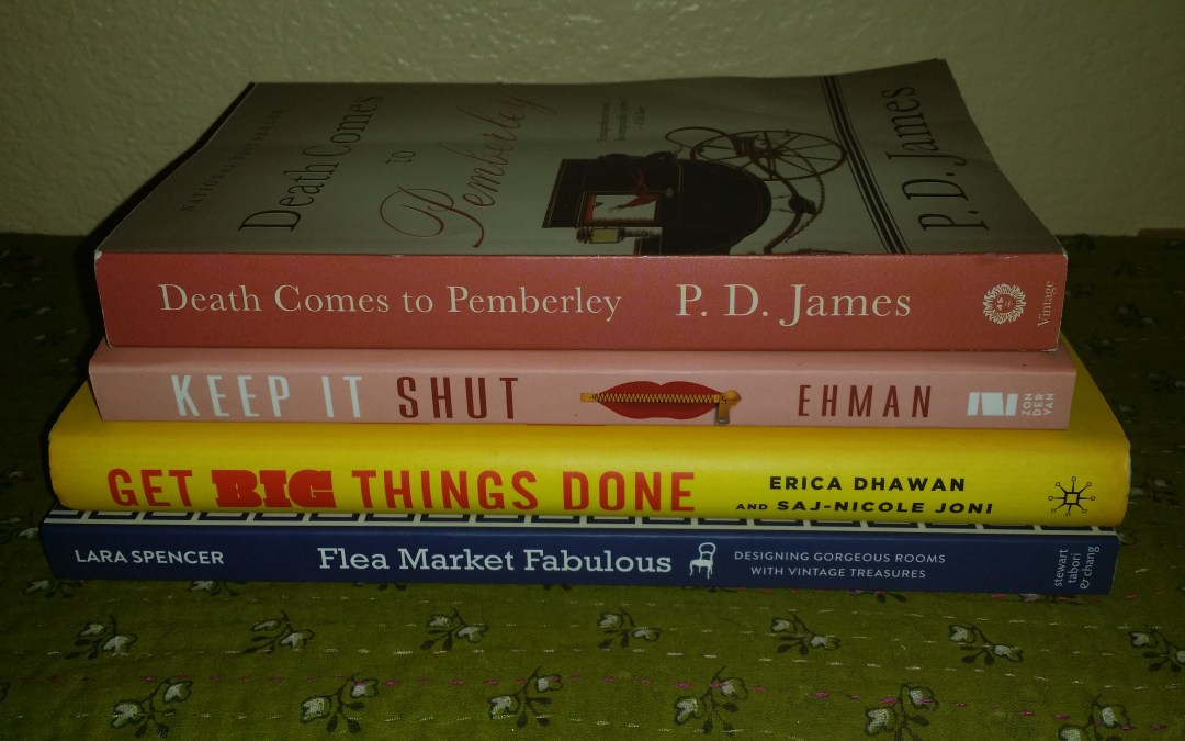 Two books I read this week (and two that I'm planning to read next week!)