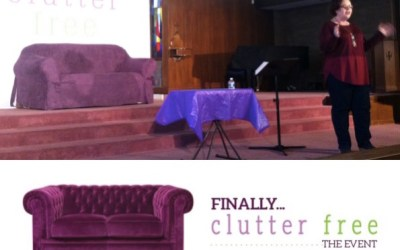 From the Front Row of Finally Clutter Free