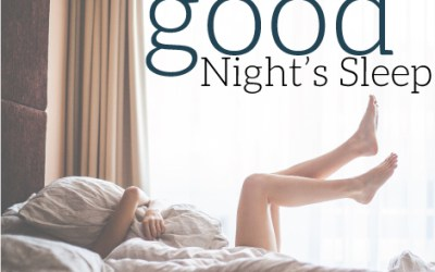 Episode 187: 5 Tips to Getting a Good Night's Sleep