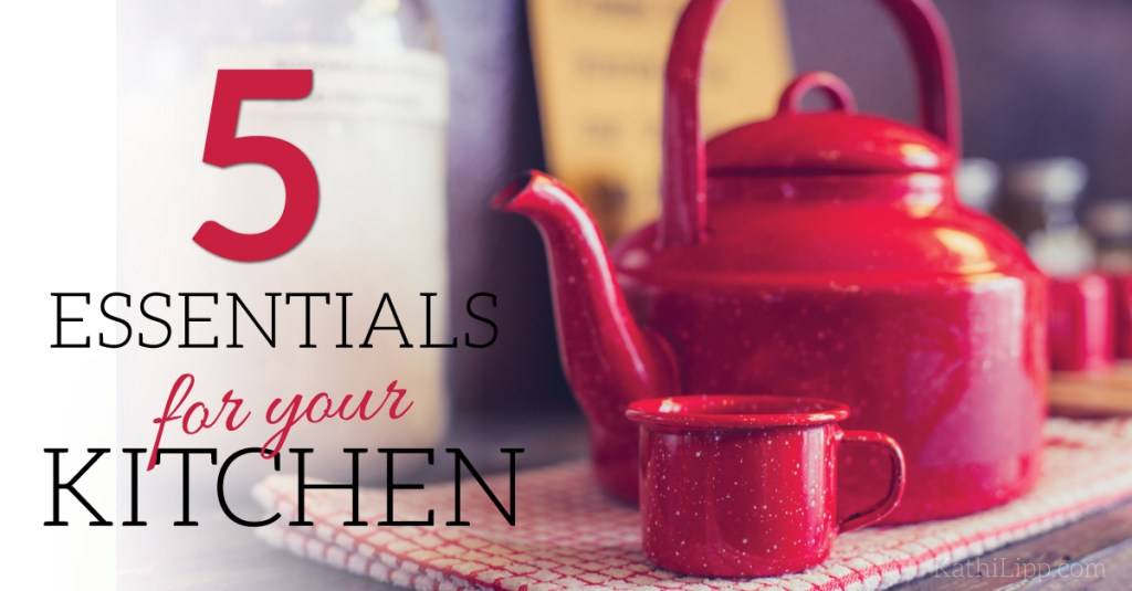 Fri Fav – 5 Essential Items for Your Kitchen