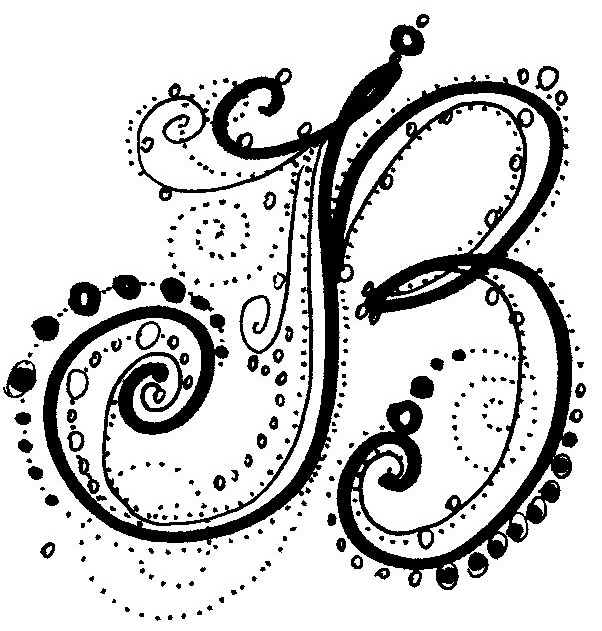 Fancy Letters - How To Design Your Own Swirled Letters Fancy - copy coloring pages of the letter m