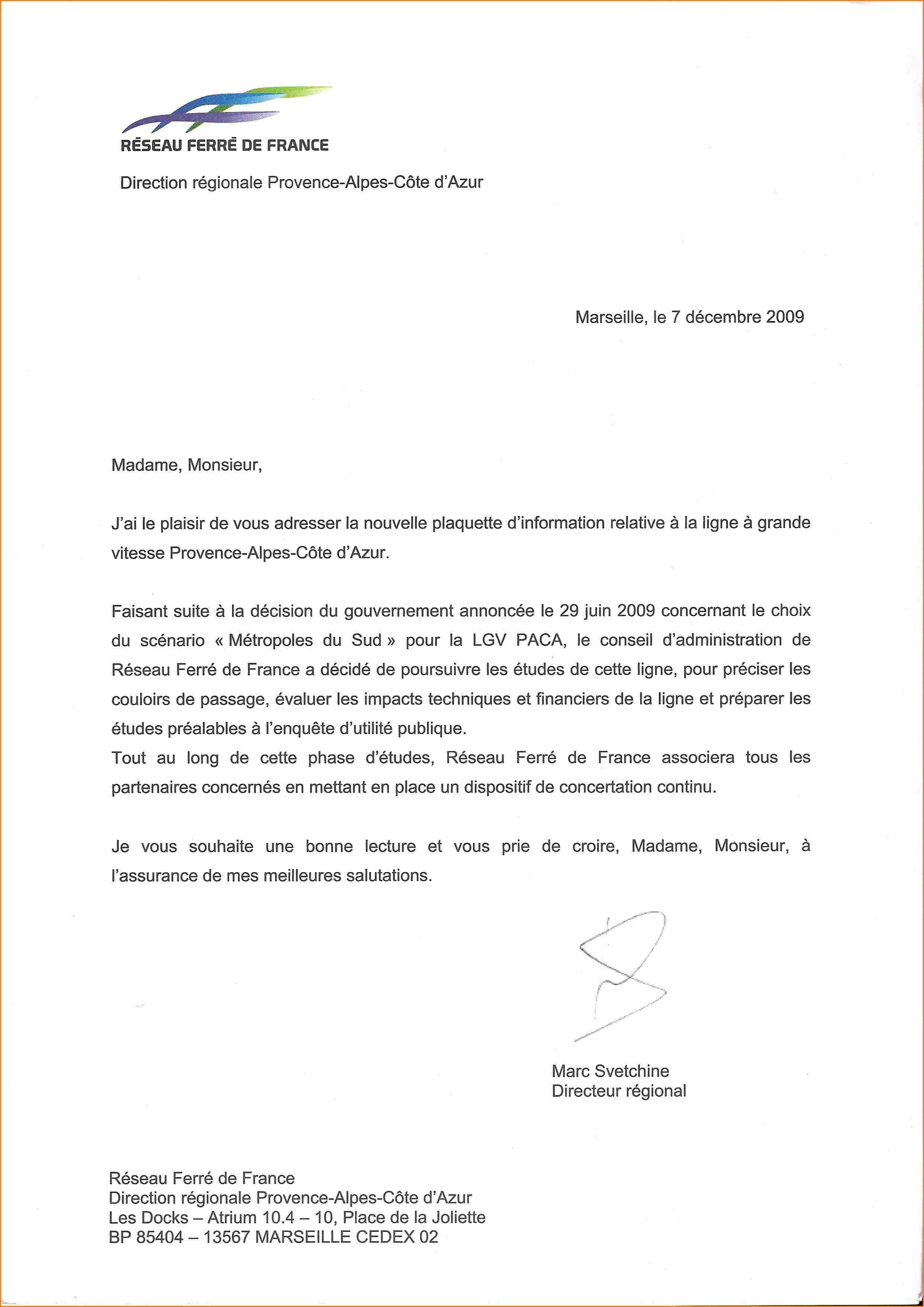 lettre de procuration administrative