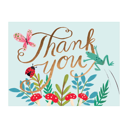 A Word about Words - how to make a thank you card in word