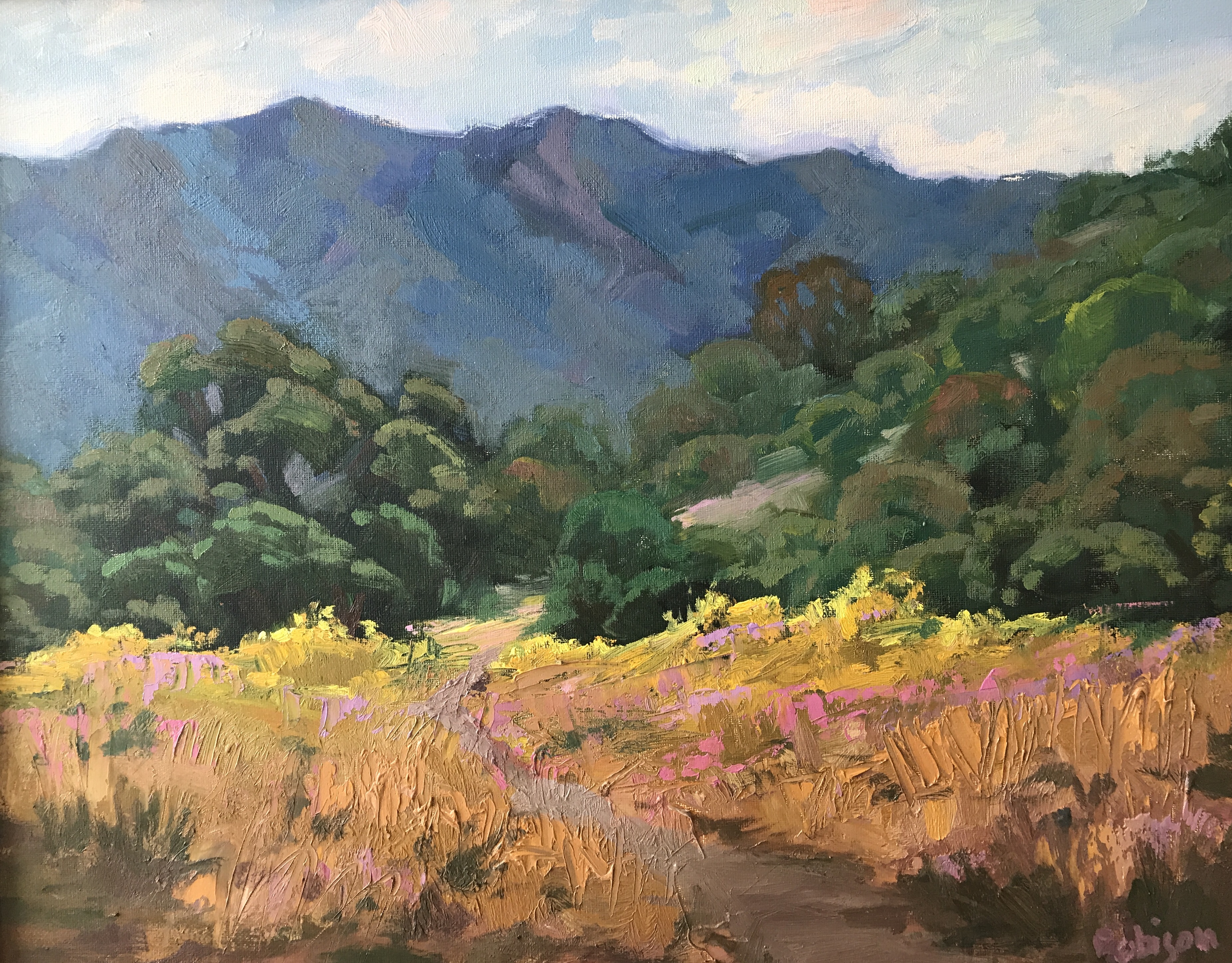 Fall Wallpaper Ocean Original Landscape Oil Paintings By Kathleen M Robison