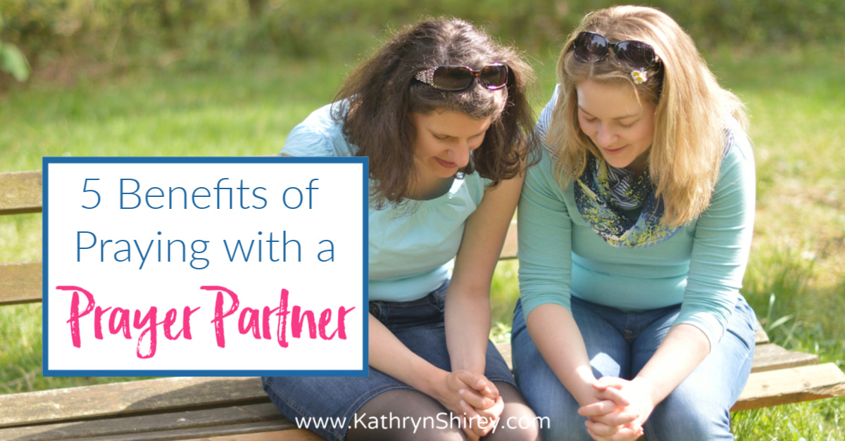 5 Benefits of Praying with a Prayer Partner - Learn how to find a prayer partner, how to pray together, and 5 reasons praying with a prayer partner will transform your prayer experience.