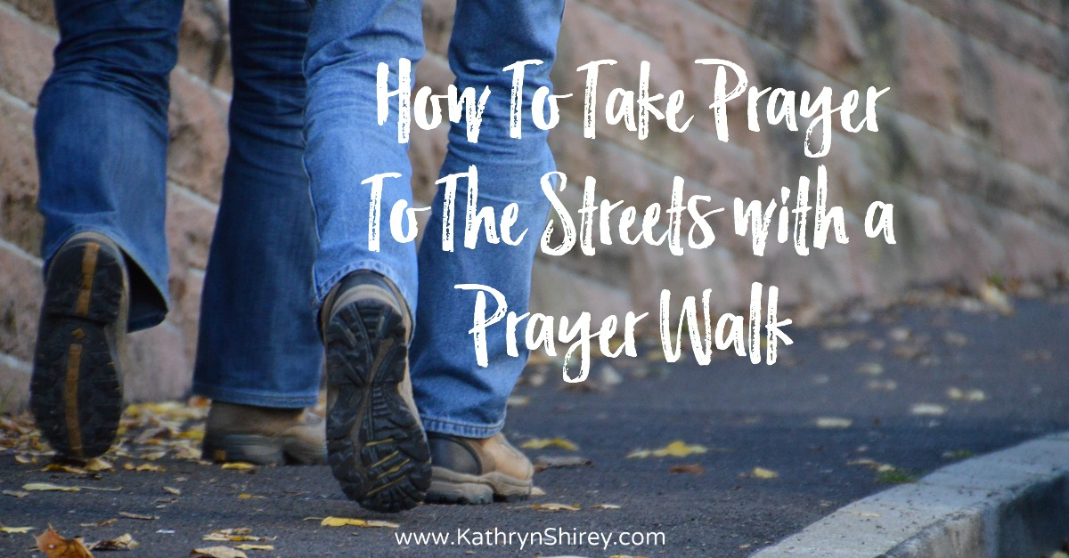 Want to put your prayer into action? Take it to the streets with a prayer walk. Fill your your neighborhood, school, church, or community with prayer. (+free printable prayer cards)