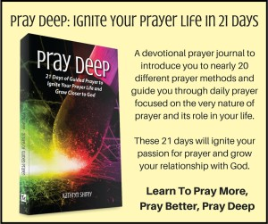 Pray Deep Card