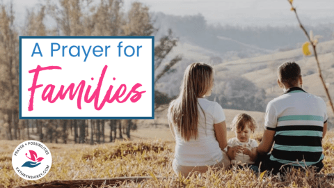 Prayer for Families