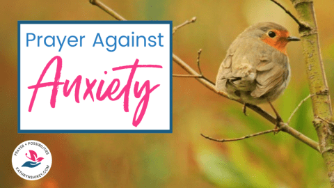 Daily Prayer Against Anxiety