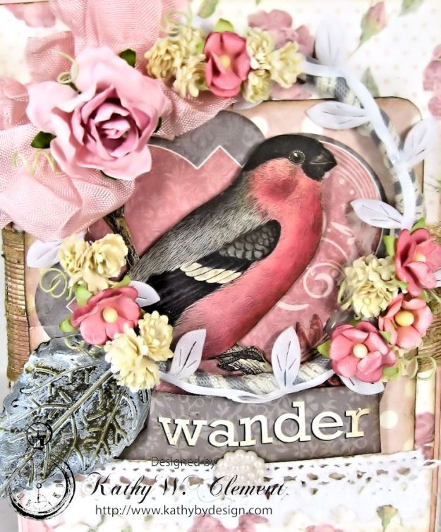 Wander Mini Album for RRR Show me the Pink Challenge 03