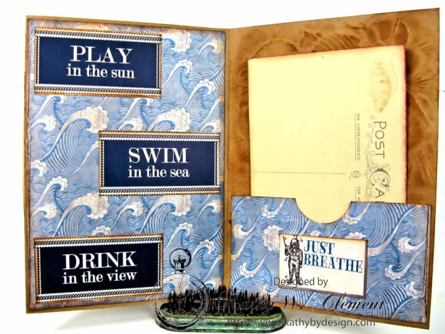 Live in the Moment Nautical Card 03