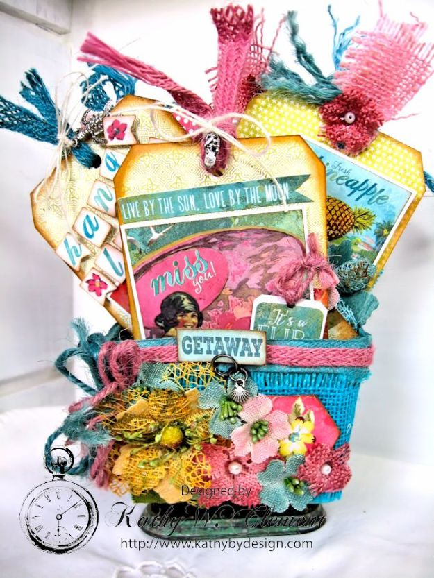 Mother's Day Beach Gift Basket