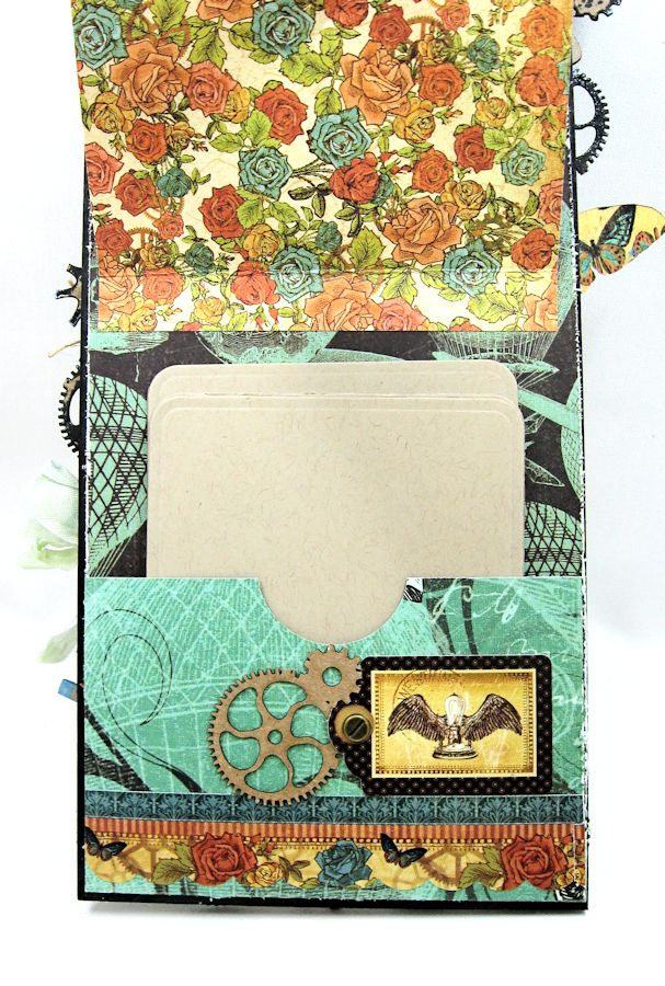 Steampunk Debutante Tag Folio by Kathy Clement for Gypsy Soul Lasercuts Product Graphic 45 Steampunk Debutante 08