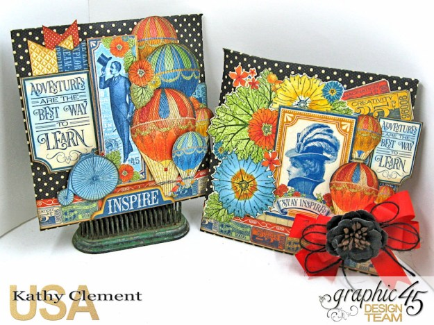 World's Fair Sweet Treat Bag Tutorial, World's Fair, Policy Envelopes, by Kathy Clement, Product by Graphic 45, Photo 1