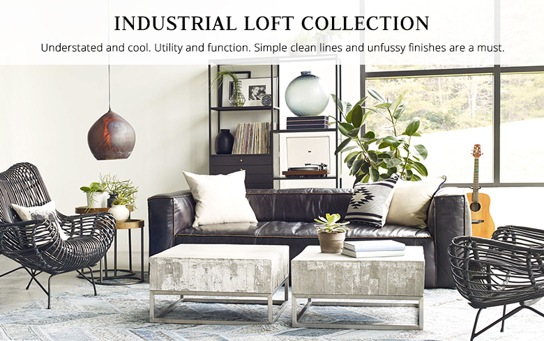 Industrial Furniture \ Industrial Lighting Kathy Kuo Home