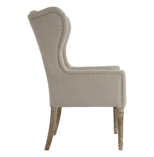 eli french country wing dining wingback chair