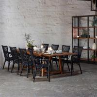 Natalia Coastal Beach Black Rattan Living Room Chair ...