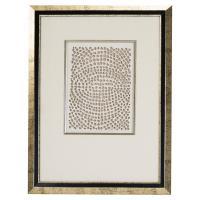 Modern Gold Abstract Paper Framed Wall Art - III | Kathy ...