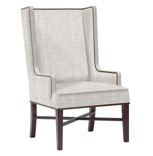 jacqueline hostess wing occasional wingback dining chair